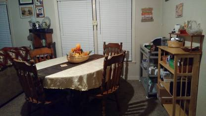 New Dining Area After